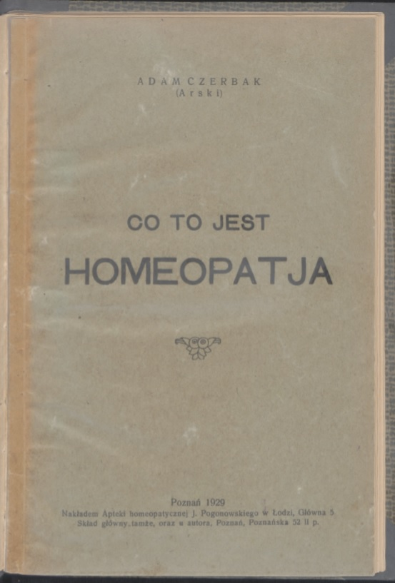 co to jest homeopatia 1